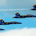 Blue Angels Formation  by Javier Flores