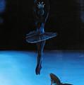 Blue Ballerina by Ivan Rijhoff