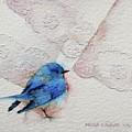 Blue Bird by Nicole Gelinas