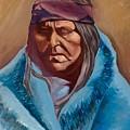 Blue Blanket by Kathleen Heese