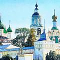 Blue Church by Yury Malkov