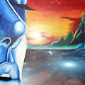 Blue Face by Michael McKenzie