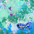 1 Blue Fish by Gina De Gorna