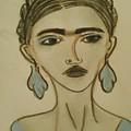 Blue Frida by Maria Elena Ferran