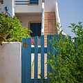 Blue Gate In Greece by Sophie McAulay