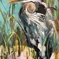 Blue Heron by Susan Elizabeth Jones