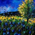 Blue Poppies  by Pol Ledent
