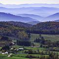 Blue Ridge Mountains by Robert Mullen