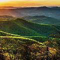 Blue Ridge Sunset by Thomas R Fletcher