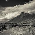 Bnw Volcan De Fuego - Sacatepequez by Totto Ponce