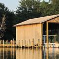 Boathouse by Digital Art Cafe