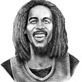 Bob Marley by Murphy Elliott