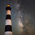 Bodie Island Lighthouse Milky Way by Michael Ver Sprill
