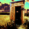 Bodie Outhouse by Jim And Emily Bush