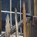 Bodie Picket Fence And Window by Bob Neiman
