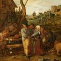 Boer Fisticuffs by Adriaen Brouwer