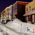 Boston During The Historic 2015 Winter by Denis Tangney Jr