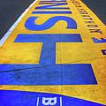 Boston Marathon Finish Line   by Joann Vitali