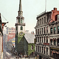 Boston, Old South Church.  by Granger