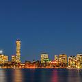 Boston Skyline by Fabio Ferreira