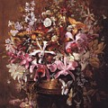 Bouquet Of Orchids by William Jacob