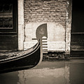 Bow Of A Gondola, Venice, Italy, Europe by Bernard Jaubert