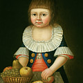 Boy With A Basket Of Fruit by Mountain Dreams