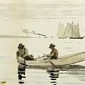 Boys Fishing by Winslow Homer
