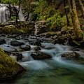 Brandy Creek Falls by Michele James