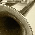 Brass Trumpet Bell And Tubing by Robert Hamm