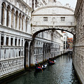 Bridge Of Sighs, Venice, Italy by Bruce Beck