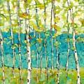 Bright Birches by Beth Capogrossi