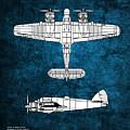 Bristol Beaufighter by J Biggadike