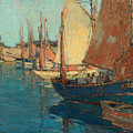 Brittany Boats by Celestial Images