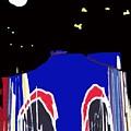 Brooklyn Bridge Blue by Gail Eisenfeld