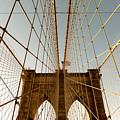 Brooklyn Bridge Wires by Alissa Beth Photography