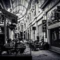 Monochrome Bucharest  Macca - Vilacrosse Passage by Daliana Pacuraru