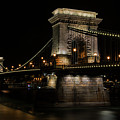 Budapest At Night. by Jaroslaw Blaminsky
