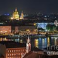 Budapest, Danube River, Hungary by Babak Tafreshi