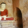 Buddha In A Niche by Michele Burgess