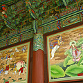 Buddhist Murals by Michele Burgess