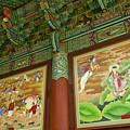 Buddhist Murals by Michele Burgess