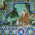 Buddhist Temple Art by Michele Burgess