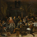 Budget Day by Jan Steen