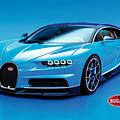 Bugatti Chiron 30 by Garland Johnson