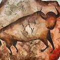 Bull A La Altamira by Michal Boubin
