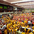 Business Executives On Trading Floor by Panoramic Images
