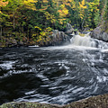 Buttermilk Falls Gulf Hagas Me. by Michael Hubley