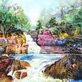 Buttermilk Falls IIi by Patricia Allingham Carlson