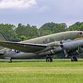 C-46 Commando Tinker Belle by Guy Whiteley
